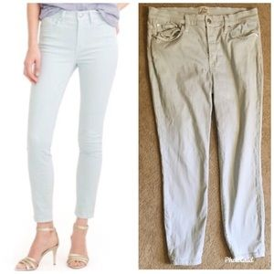 ✨ J. Crew Trademark Lookout High Rise Skinny Jeans